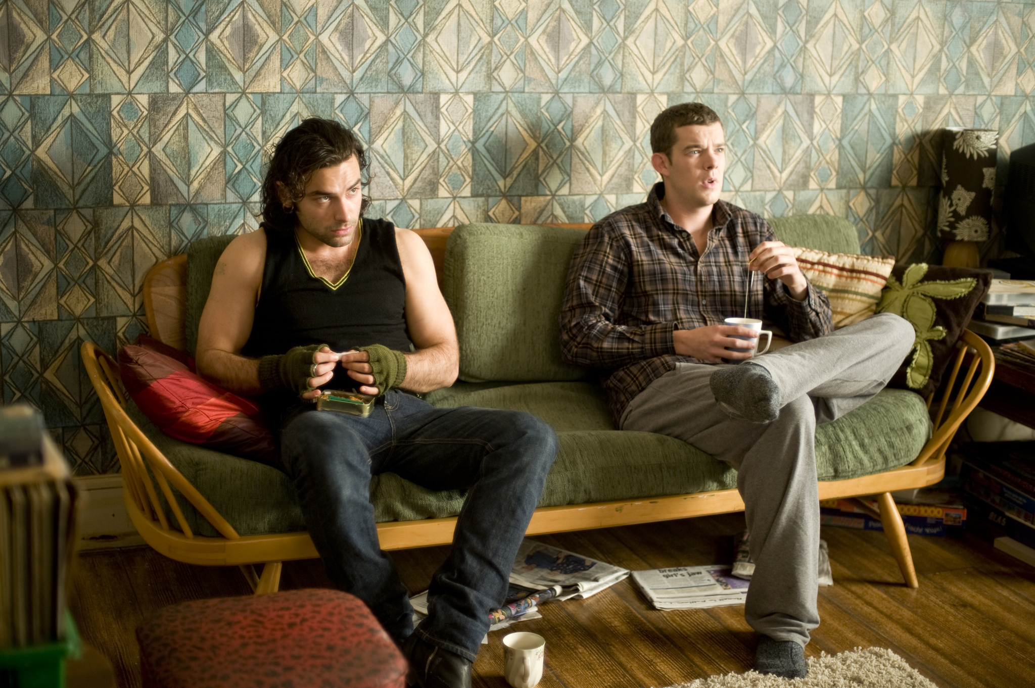 Still of Russell Tovey and Aidan Turner in Being Human (2008) photo #502406