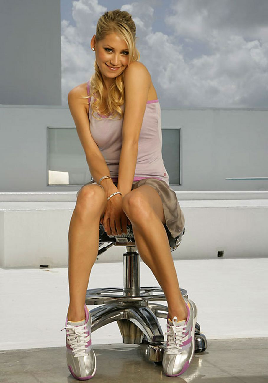 anna kournikova interview