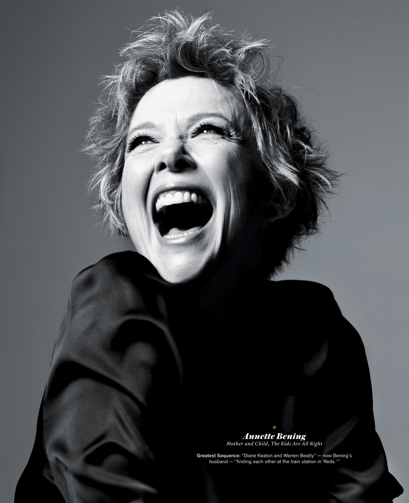 annette bening interview