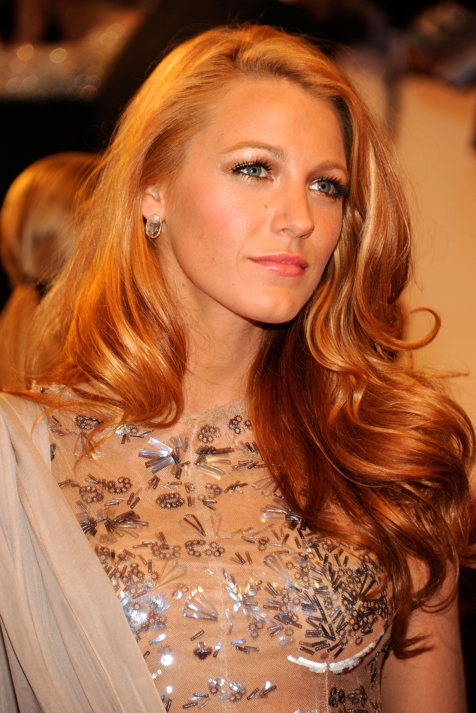 Blake lively haarfarbe
