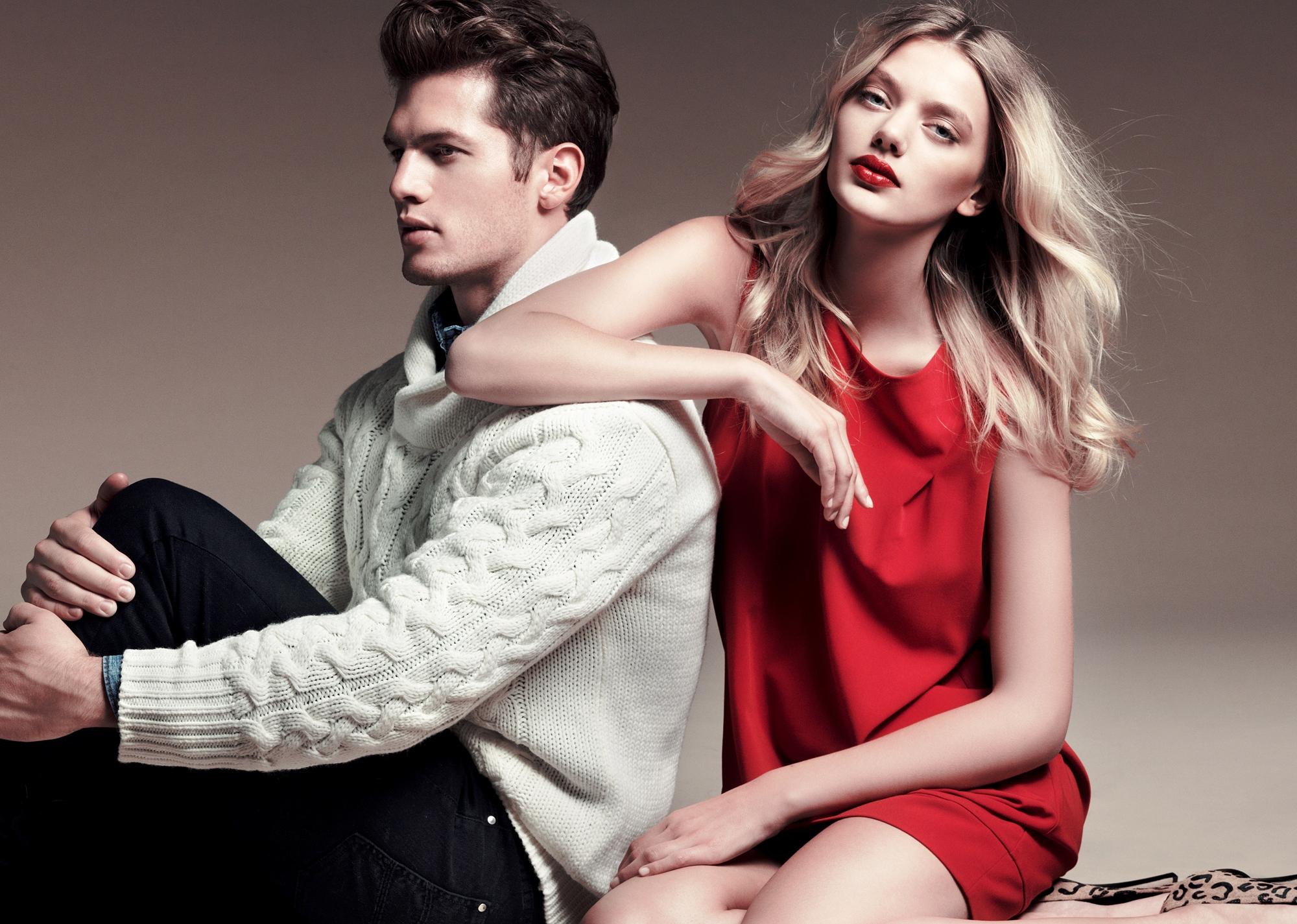 Фото модели девушка и мужчина