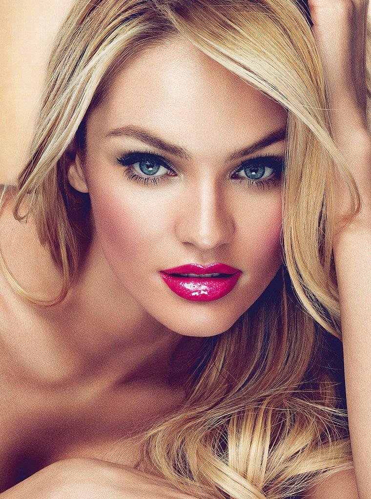 Candice swanepoel makeup