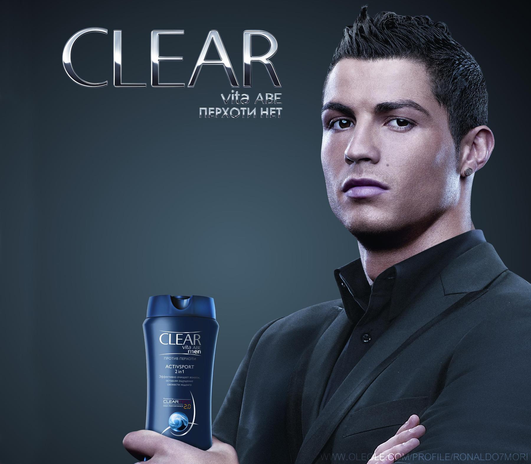 фото прически криштиану роналдо из рекламы шампуня