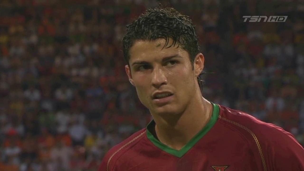 Cristiano ronaldo hairstyle 2006