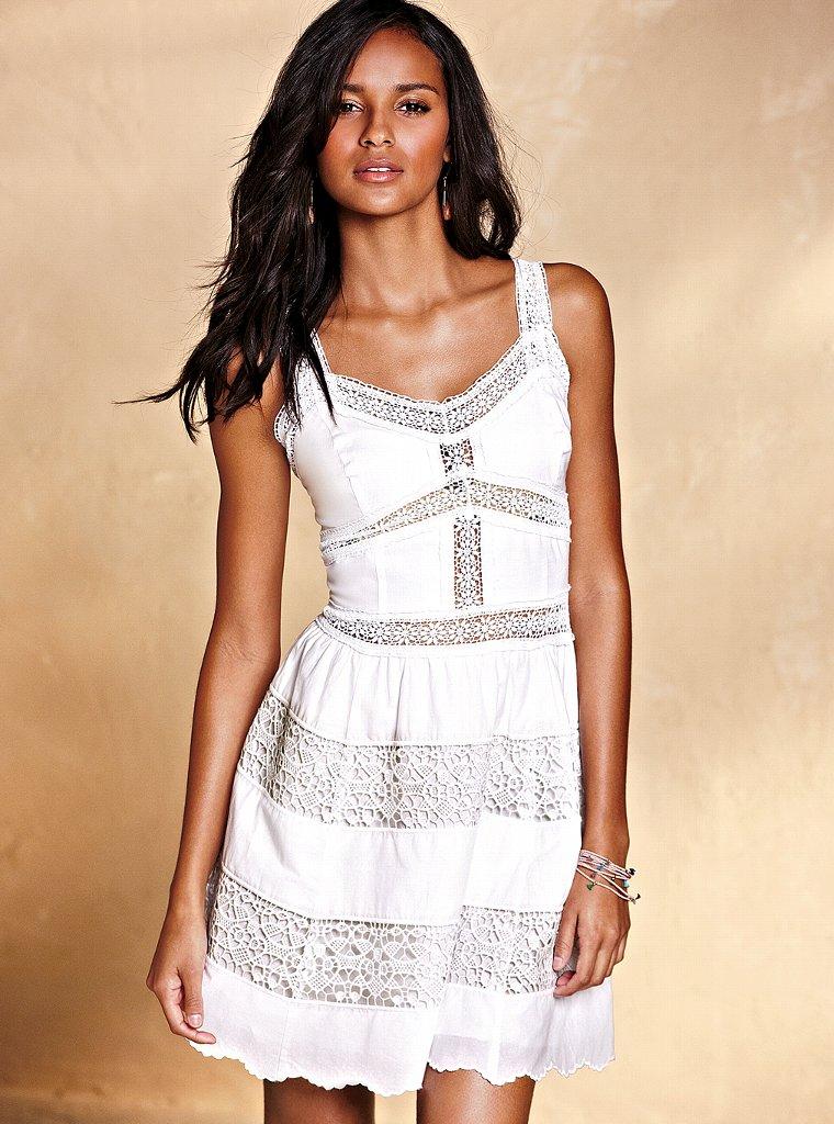 Модели платьев из шитья на лето