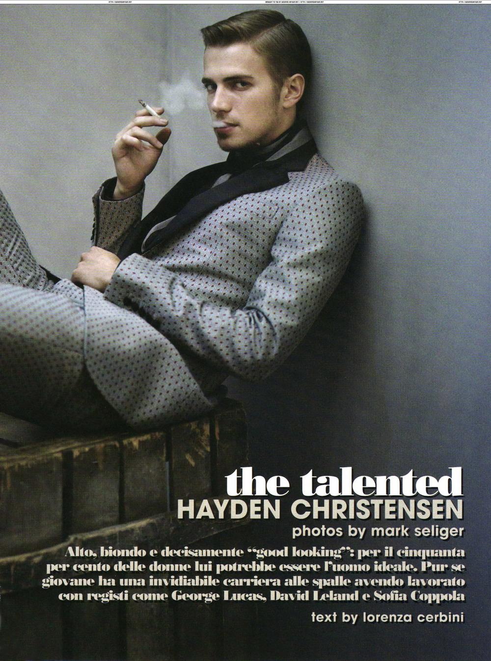 Hayden Christensen pho...
