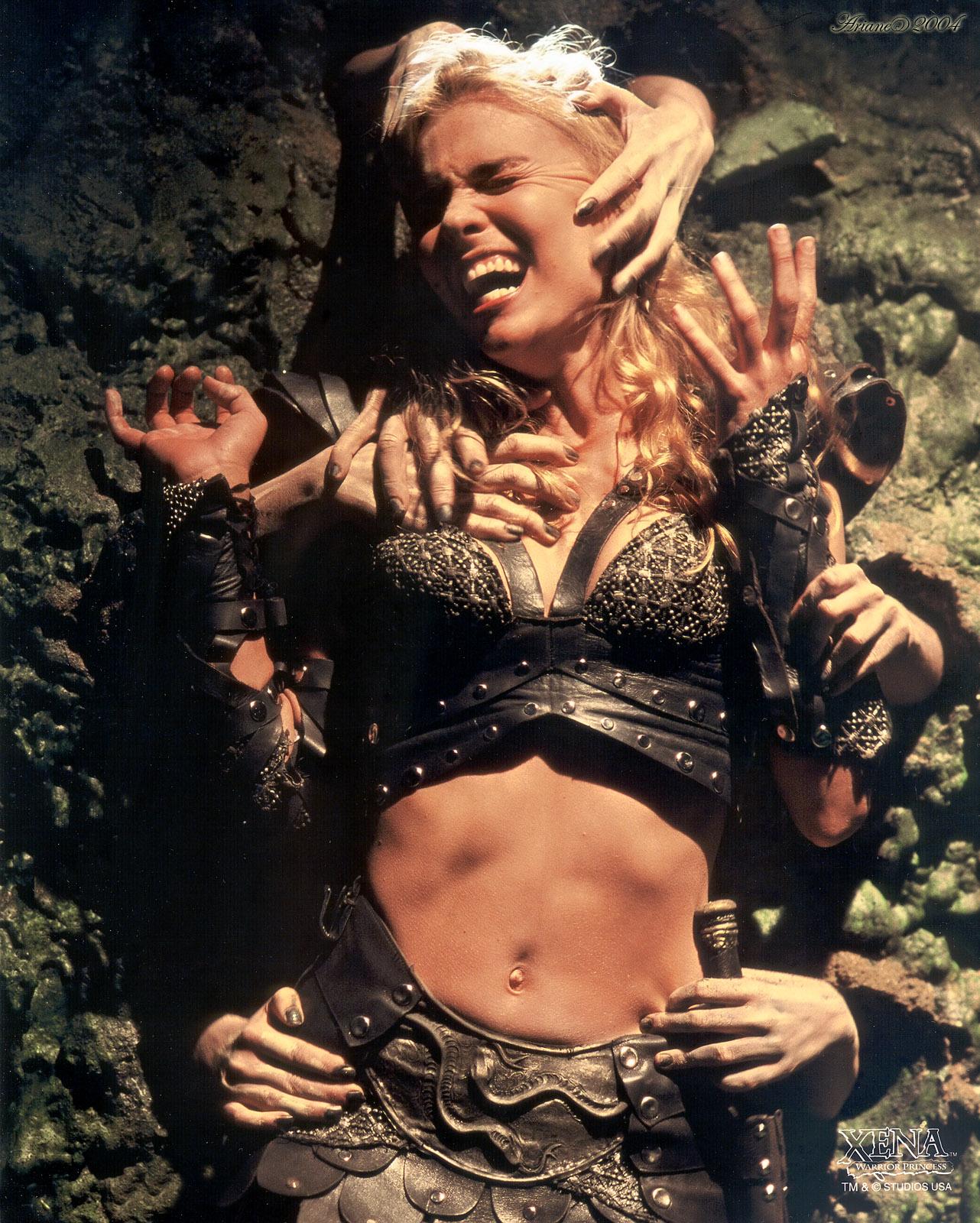 Hudson leick callisto the sexiest warrior - 2 part 6