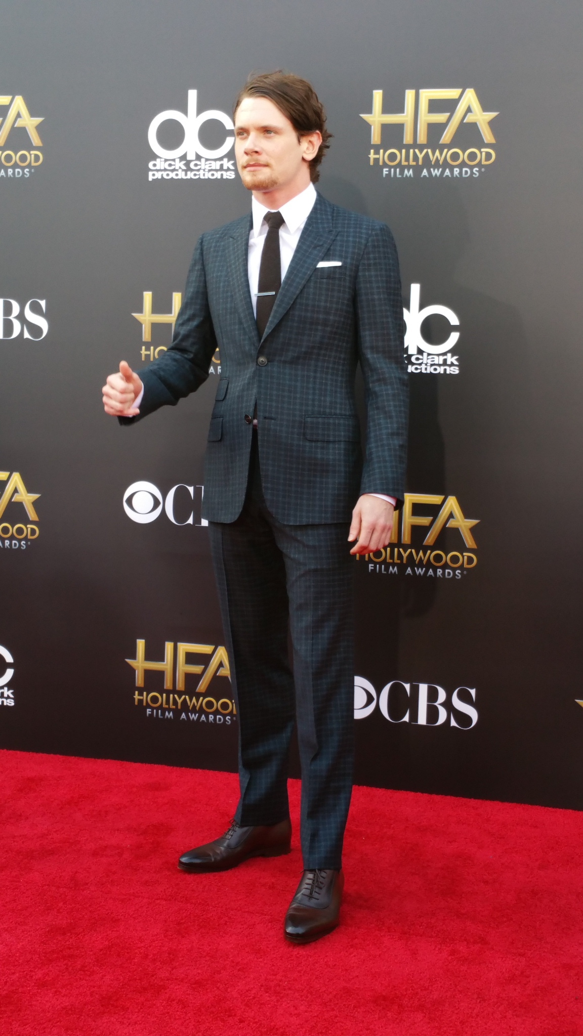 Jack O'Connell at event of Hollywood Film Awards (2014) photo #540431