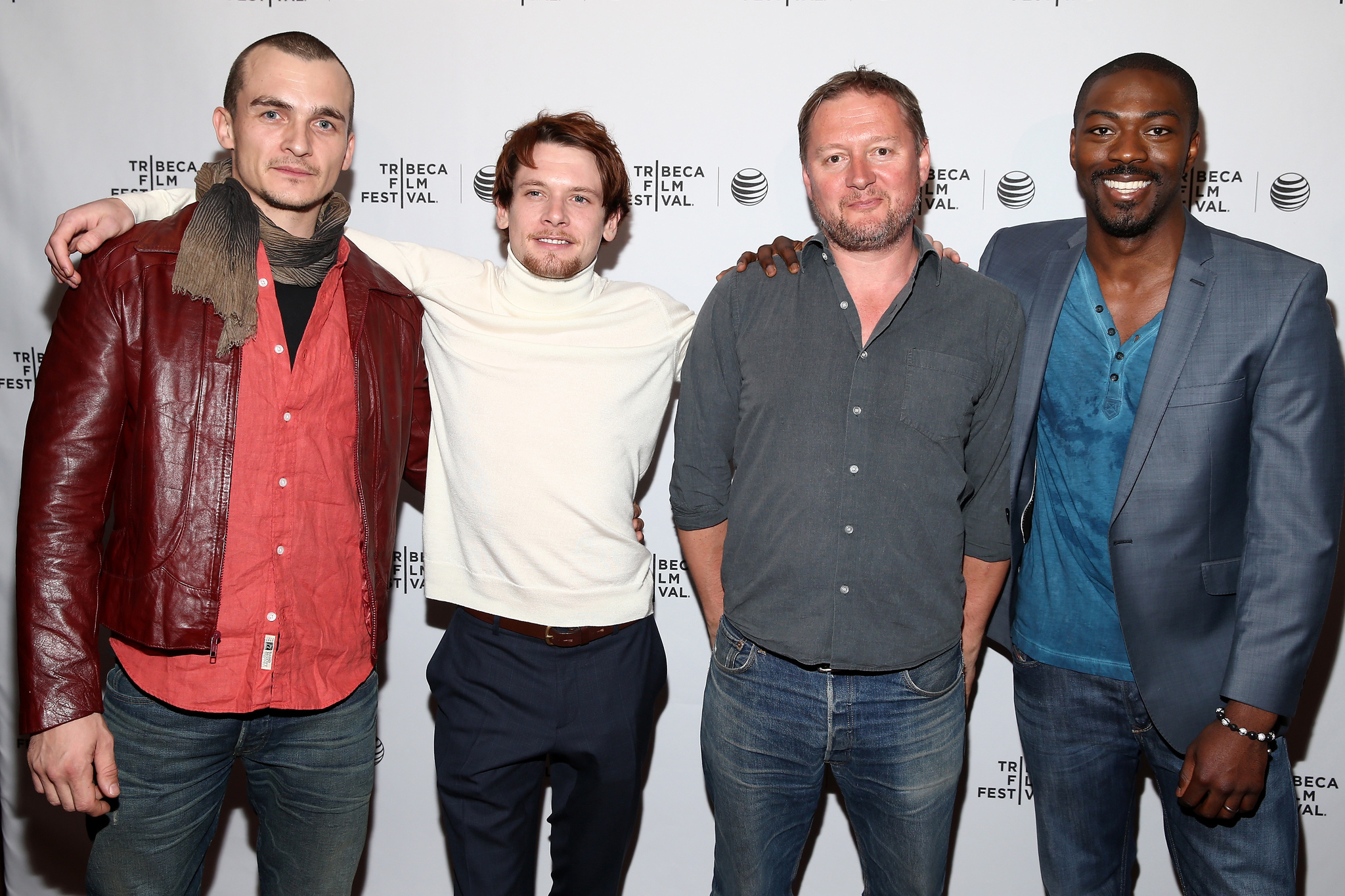 David Mackenzie, Rupert Friend, Jack O'Connell and David Ajala photo #540461