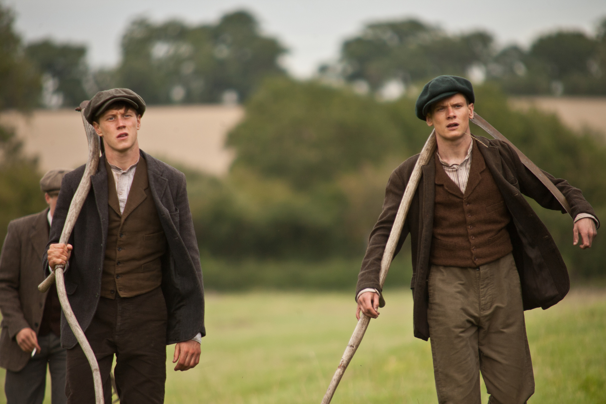 Still of George MacKay and Jack O'Connell in Private Peaceful (2012) photo #540476