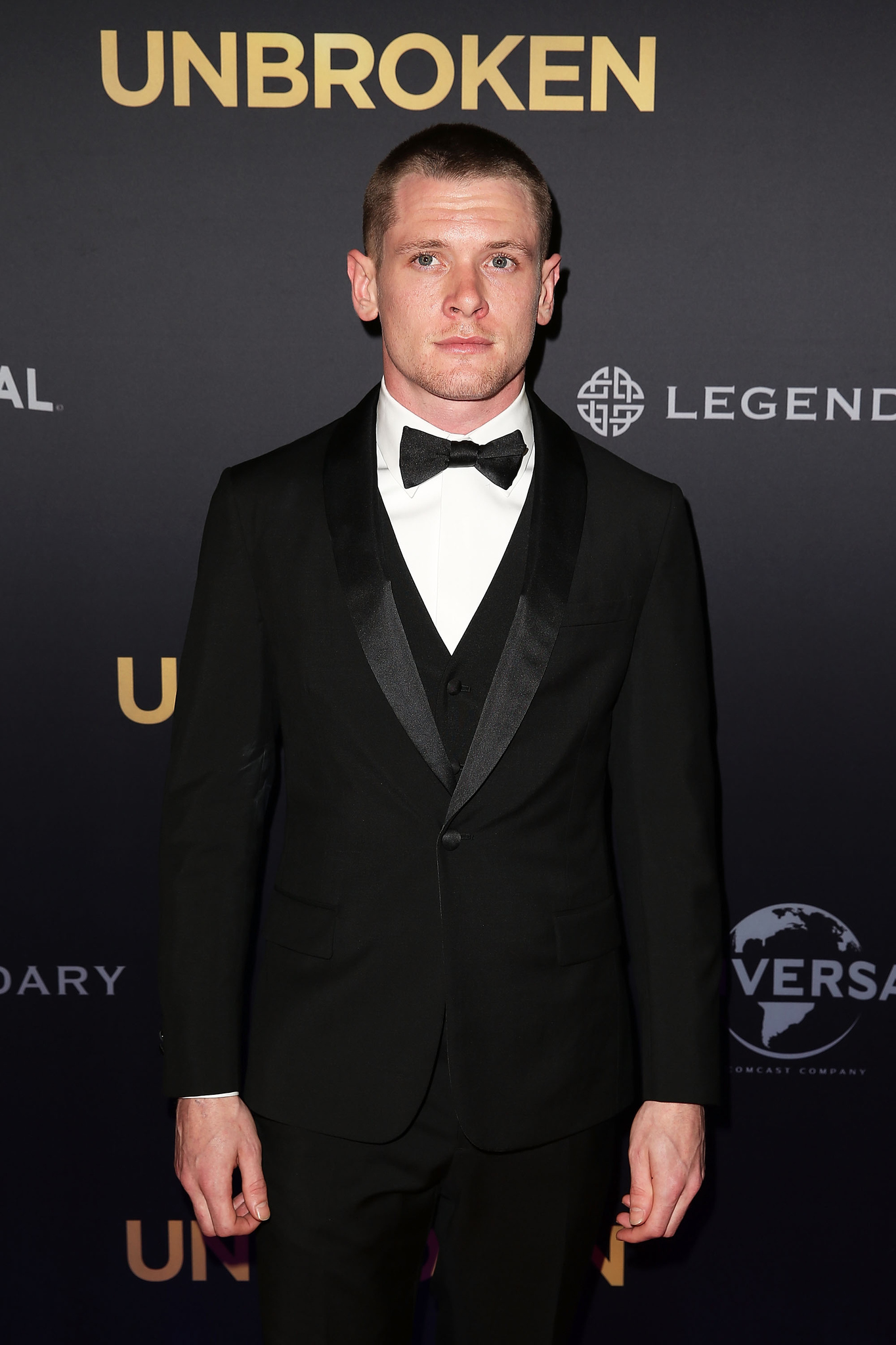 Jack O'Connell at event of Unbroken (2014) photo #540428