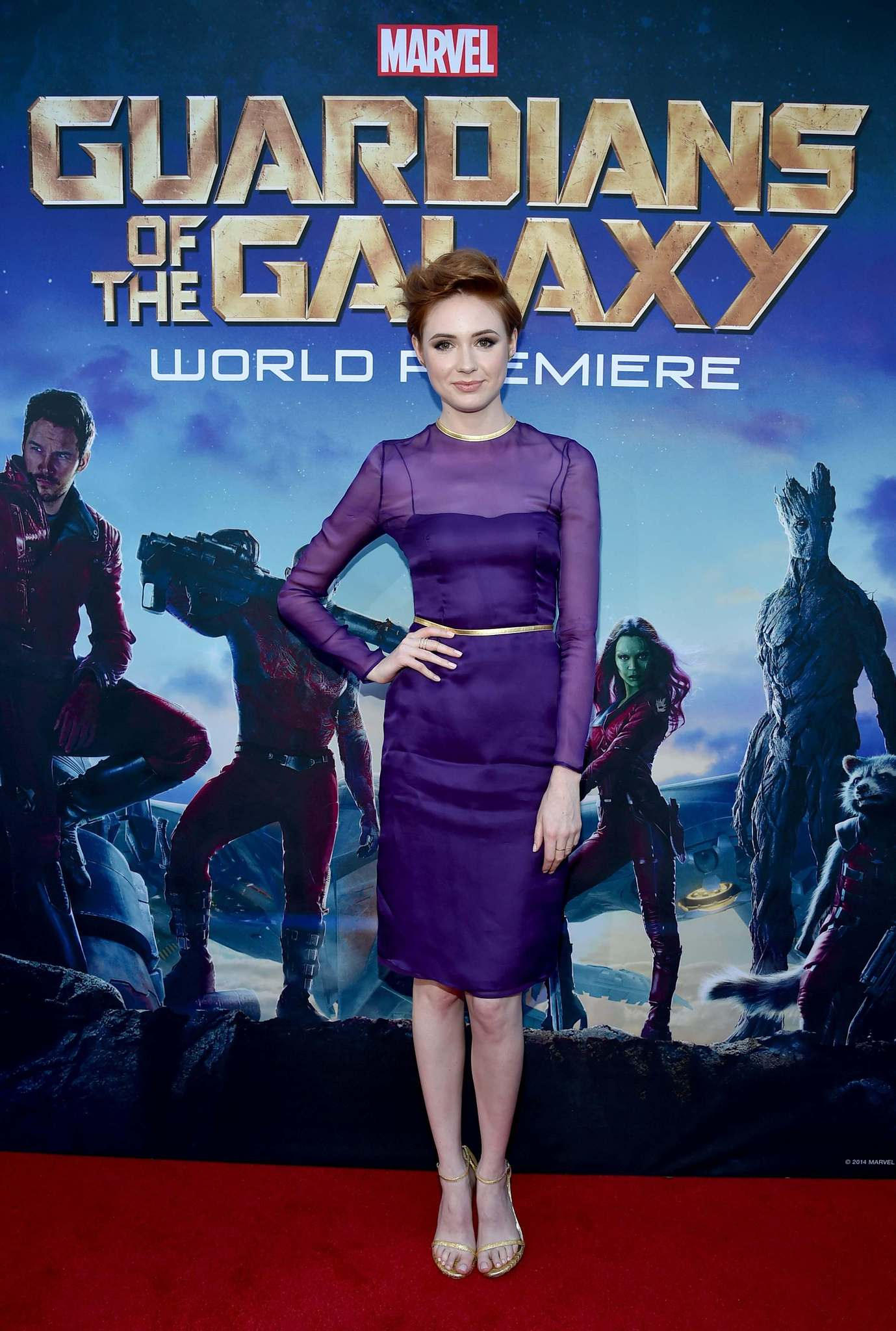 Karen Gillan at event of Guardians of the Galaxy (2014) photo #489485