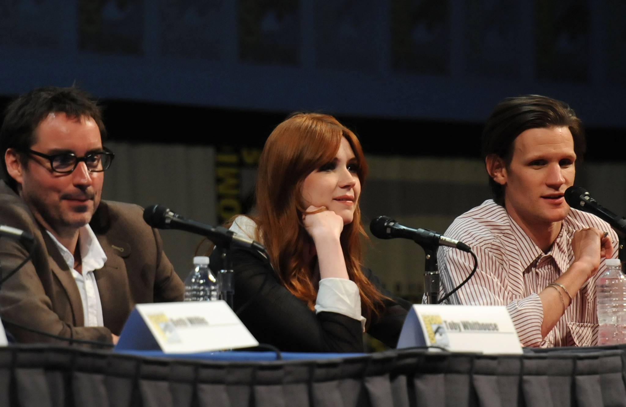 Toby Whithouse, Matt Smith and Karen Gillan photo #489559