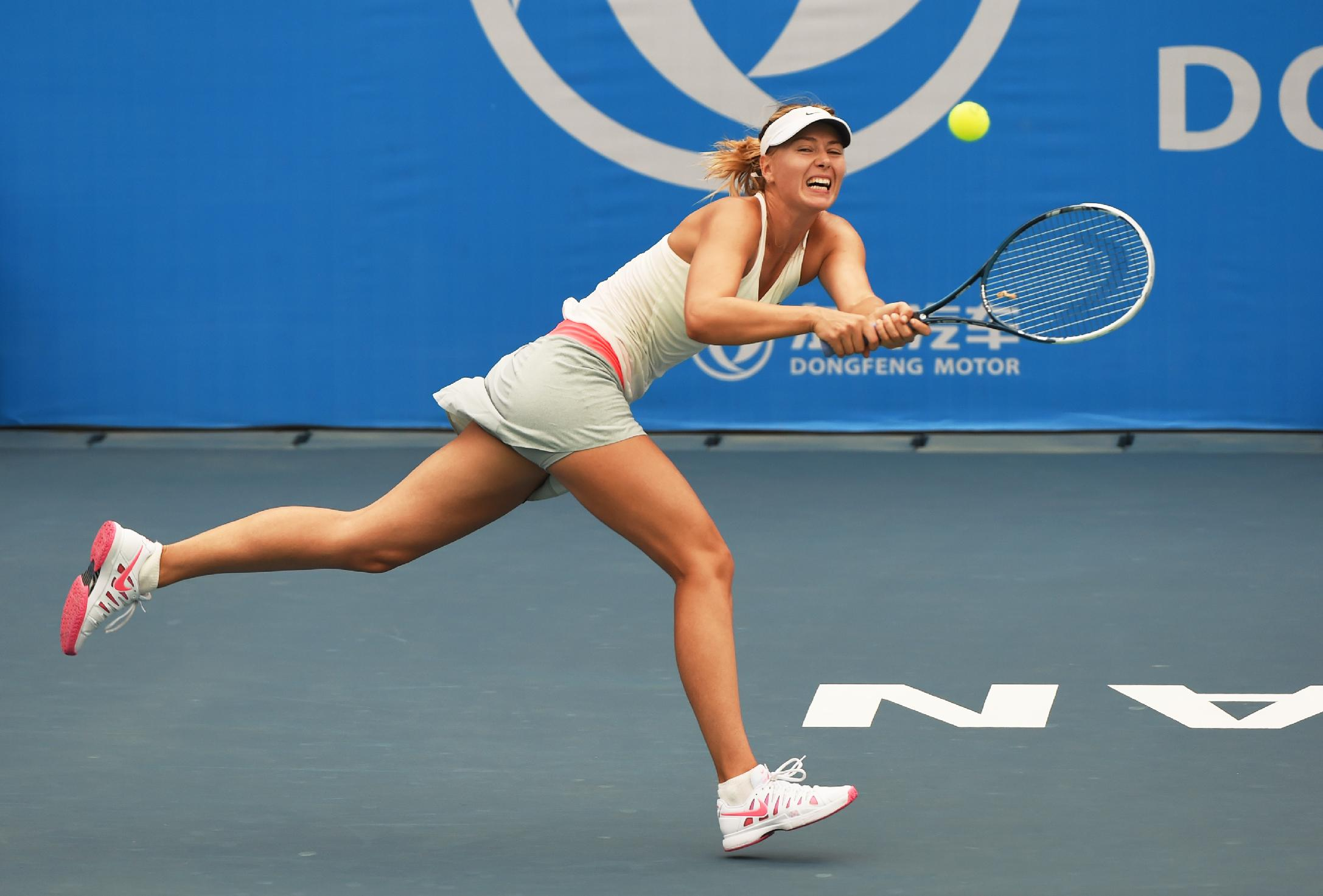 maria sharapova marketing a champion