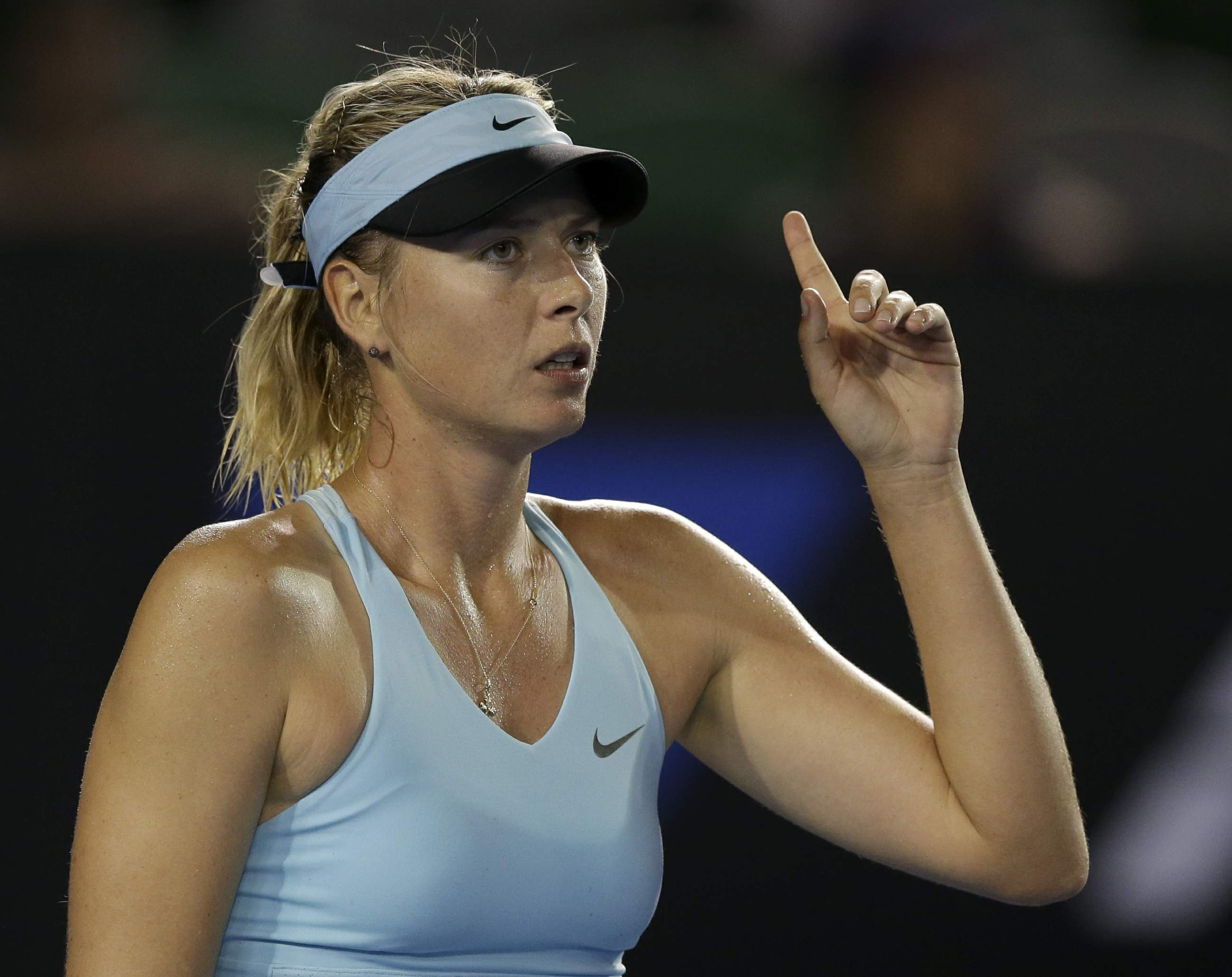 my favourite personality maria sharapova Sharapova was seeded fifth at the australian open, but was not considered a favorite nevertheless maria sharapova reached the quarterfinals.