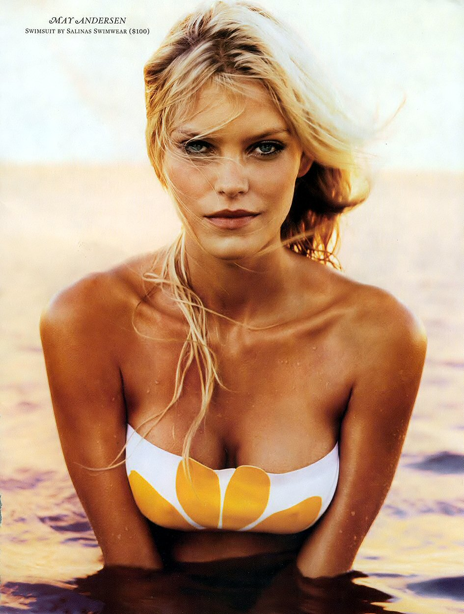 Bikini May Andersen nude photos 2019