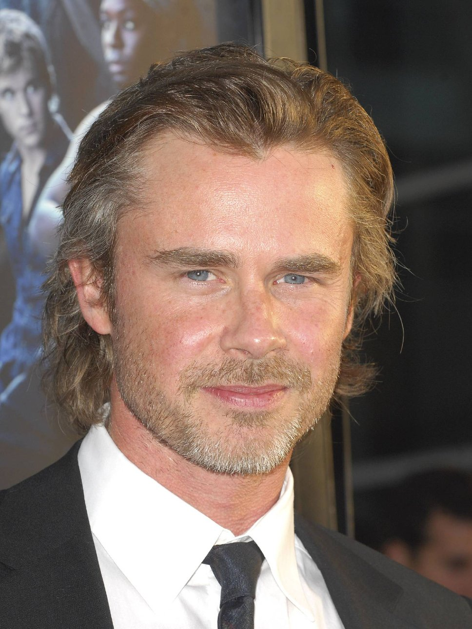 sam trammell wife